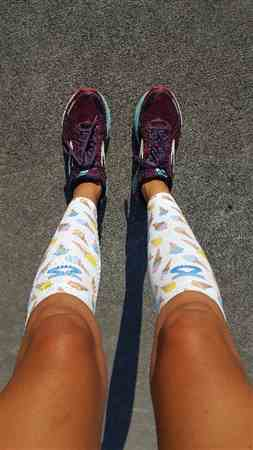 Elena C. verified customer review of Boston Doodle Compression Leg Sleeves
