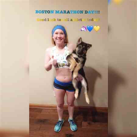 Hannah M. verified customer review of Boston Seamless Sports Bra