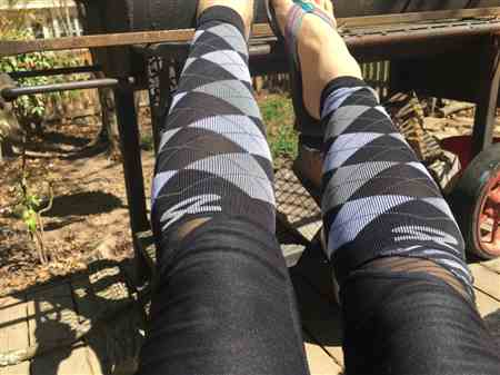 Samantha G. verified customer review of Reflect Compression Leg Sleeves
