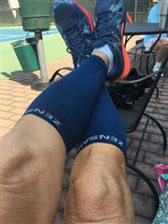 Babs verified customer review of USA Liberty Compression Leg Sleeves