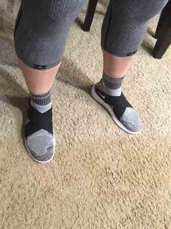 James P. verified customer review of Compression Knee Sleeve