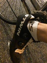 Lindsey R. verified customer review of Cycling Socks