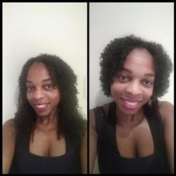 Gemini L. verified customer review of Kinky Curls Clip Ins