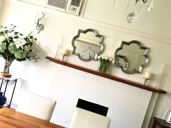 Manda E. verified customer review of Marrakech Silver Wall Mirror CL