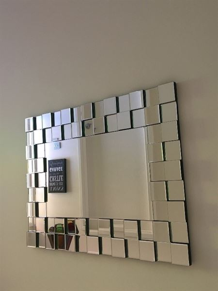 Jan T. verified customer review of Ablaze Indiana Art Deco Wall Mirror TG - ADRS97