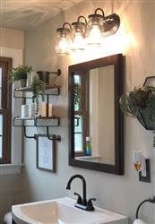 jrubrecht  verified customer review of Mason Jar Wall Sconces Vanity Lights