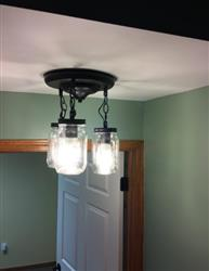 Caitlin Hatty verified customer review of Mason Jar Semi-Flush Mounts