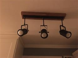 Misty gale verified customer review of Wooden Spotlights Flush Mounts Track Lights