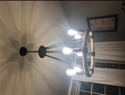 RB verified customer review of Rustic Rope Chandeliers Transitional Lighting
