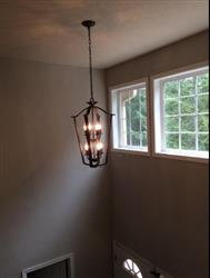 MG  verified customer review of Cage Foyer Transitional Chandeliers