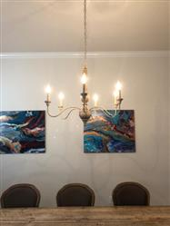 virginiem verified customer review of Antique Shabby Chic French Country Chandeliers