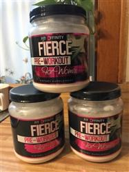 Gabriela A. verified customer review of Fierce Pre Workout