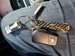 Wilfredo S. verified customer review of Real Carbon Fiber Key Holder & Organizer