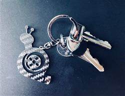 Anonymous verified customer review of Real Carbon Fiber Turbo Snail Keychain [Final Edition]