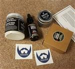 Always Bearded Lifestyle™ House Blend Beard Cream: Bergamot + Ylang with Distilled Cedarwood