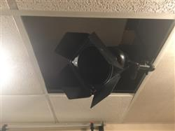 Anonymous verified customer review of Fixed Mount Ceiling or Wall Stand