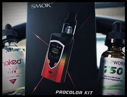 Ashley Blackwell verified customer review of Smok ProColor 225W Kit w/TFV8 Big Baby Beast