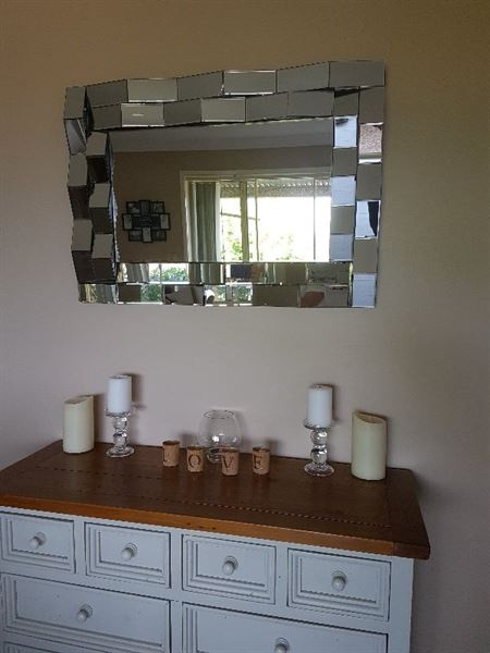 Anthea W. verified customer review of Ablaze Gypsy Art Deco Wall Mirror TG - ADRR107