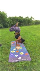 Rachel L. verified customer review of Sphere to Here Yoga Crops