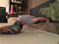 Katie B. verified customer review of Rawr Talent Yoga Crops