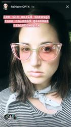 Gavin H. verified customer review of Rose Lens / Aero Transparent Color Frame