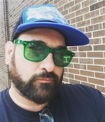Clinton Z. verified customer review of Green Lens / Transparent Frame
