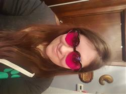 Christina W. verified customer review of Magenta Lens / Heart Frame
