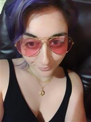 Francesca F. verified customer review of Rose Lens / Aviator Frame