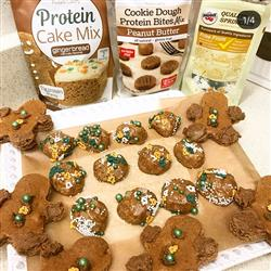Katie D. verified customer review of Protein Cake Mix - Gingerbread