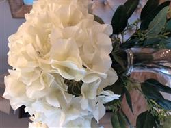 Anonymous verified customer review of Silk Flower Hydrangea in Ivory - 29 Tall x 7.5 Bloom