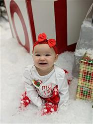 Regina W. verified customer review of My First Christmas outfit! Pre-Order