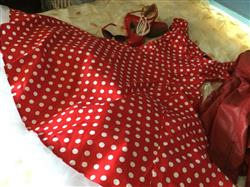 Tiina B. verified customer review of Dolores Doll Red Polka Dot 50-luvun mekko