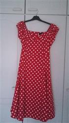 teija a. verified customer review of Dolores Doll Red Polka Dot 50-luvun mekko