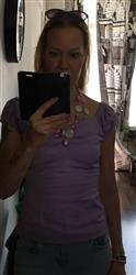 Hanna L. verified customer review of Dolores Lilac Top
