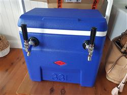Tasha W. verified customer review of Complete Jockey Box Package | 2 x 5L Kegs On Tap Anywhere