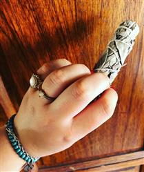 Anonymous verified customer review of White Sage Smudge Stick