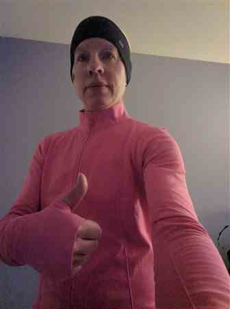 Danielle H. verified customer review of Seamless Power Running Jacket