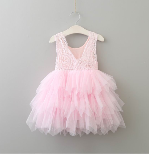 Camila pixie dress in pink