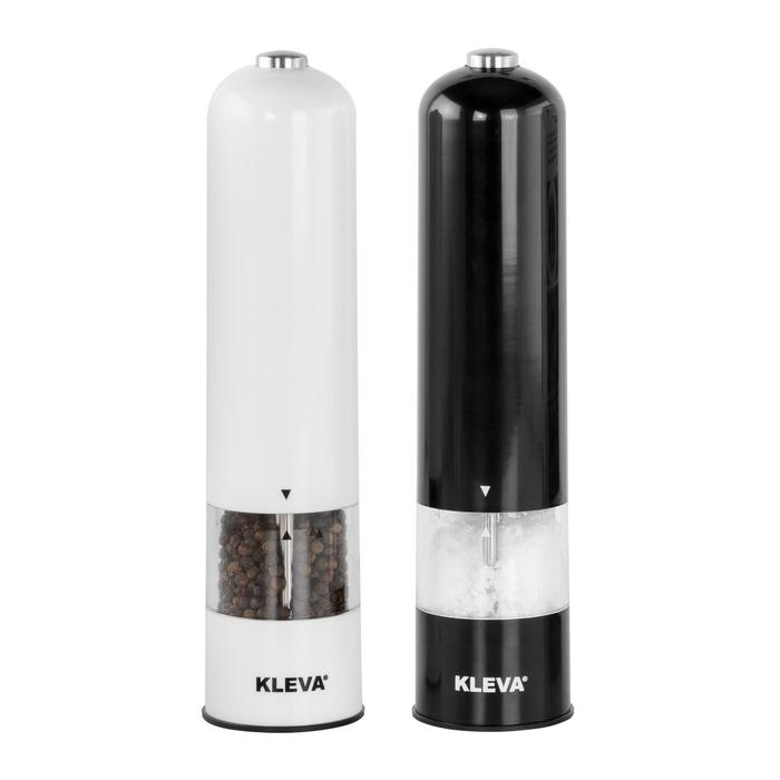 BUY 1 Get 1 FREE Electric Pepper & Salt Grinder - Quick and Controlled Seasoning With Built in LED Light!
