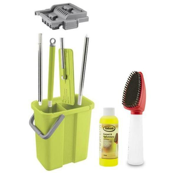 G2 Flat Mop - The Premium Microfibre Mop With A Unique Vertical Squeeze Dry Technology!