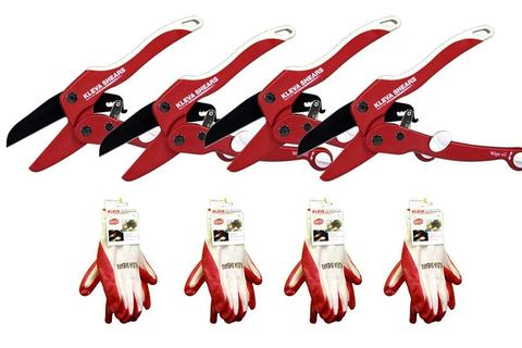 Worlds Best Original Garden Shears Buy 1 GET 3 FREE and 4 FREE GLOVES