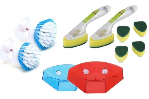 Kleva Cleaning 10 Piece Set - Washing Up Made Easy! No More Messy Sinks!