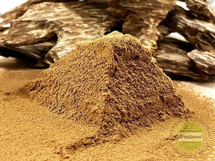 "Grandawood Agarwood  ""Kỳ Bì"" Kyara's Skin (Bark) Powder"