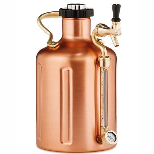GROWLERWERKS | uKeg 128oz Beer Keg, Copper