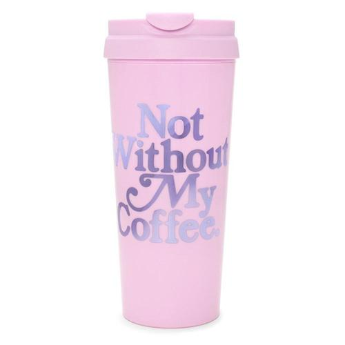 BAN.DO | Thermal Mug - 'Not Without my Coffee' 16oz (470ml)