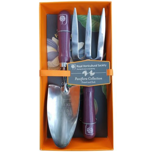 BURGON & BALL  |  Passiflora Trowel and Fork - Royal Horticultural Society