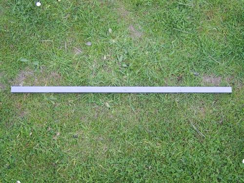 Metal Strut - Rectangular Profile - 100cm (20mm x 10mm)