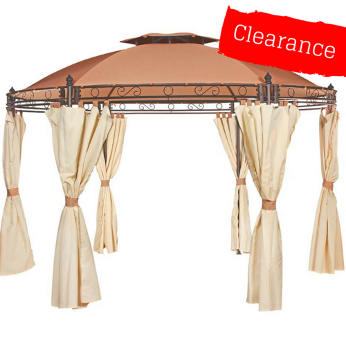 CLEARANCE - Canopy for 3.5m Patio Gazebo - Two Tier