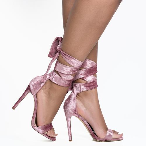 Destinee Ankle Wrap Heel
