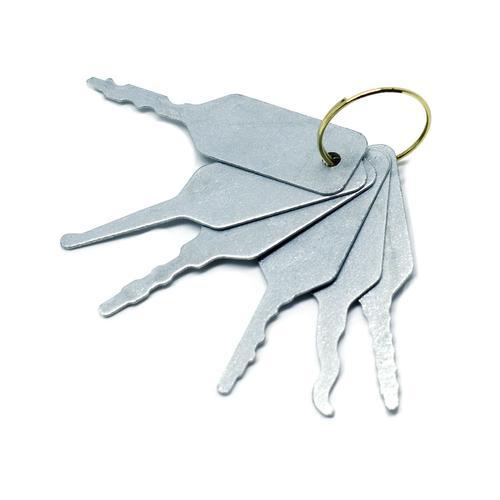 Medium Jigglers for Locksmiths